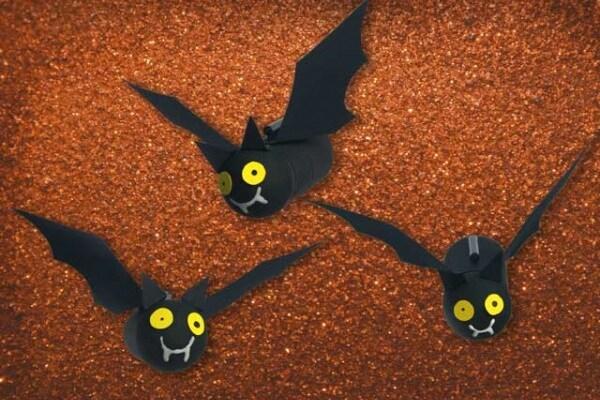 Halloween | Fai da te: i pipistrelli della paura