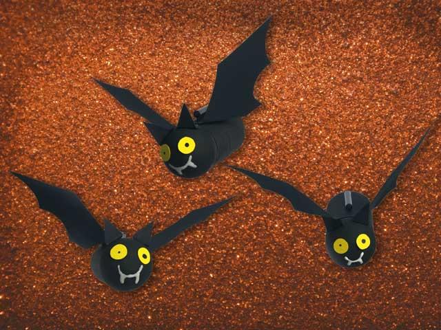 Halloween fai da te i pipistrelli della paura focus for Decora la stanza girlsgogames