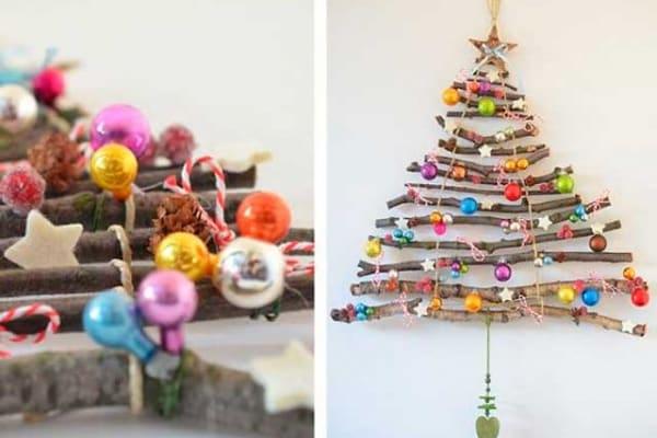 Originali alberi di Natale fai da te