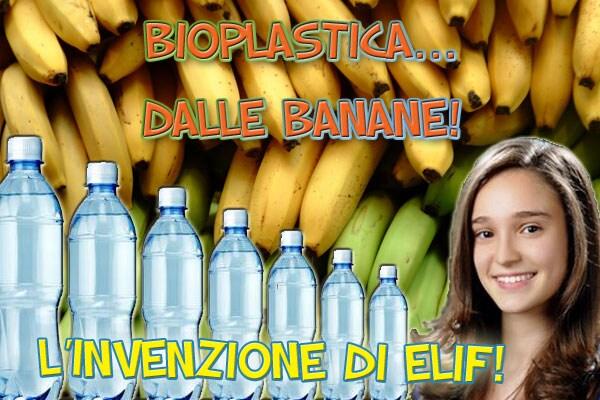 Invenzioni geniali: a 16 anni crea la bioplastica dalle bucce di banana