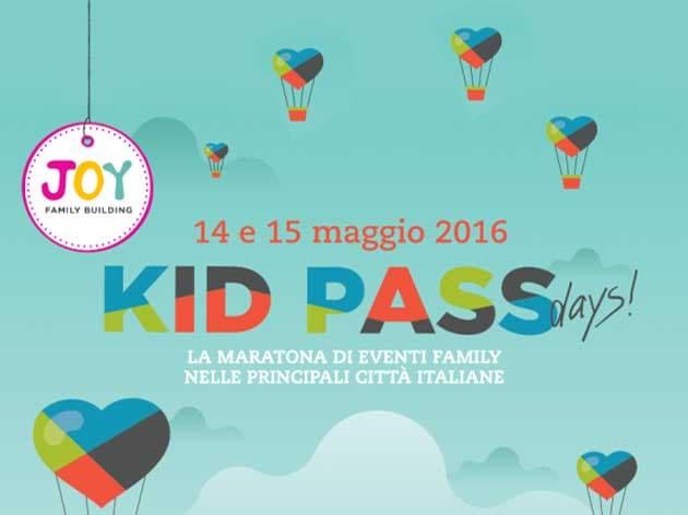 Kids Pass Days 2016 | Tanti eventi fatti su misura per voi il 14 e il 15 maggio