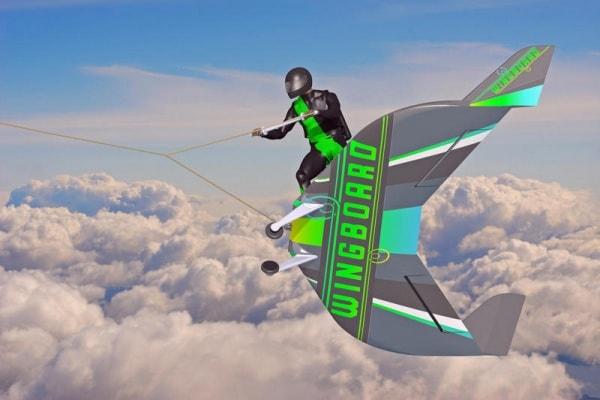 WingBoard, la tavola da surf per il cielo