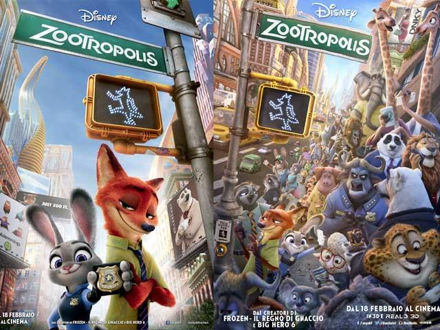 Zootropolis vince l'Oscar come miglior film d'animazione