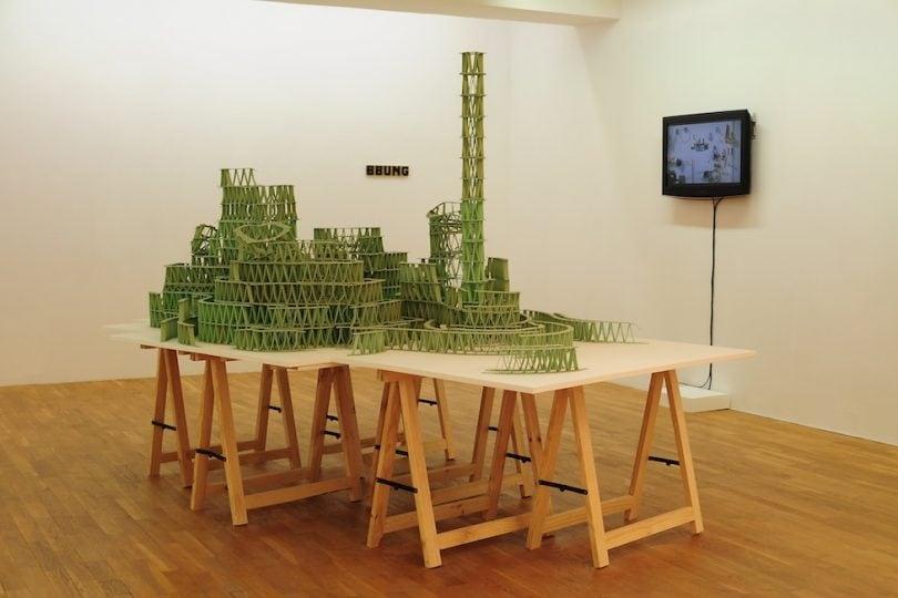 Incredibili sculture di… chewing-gum