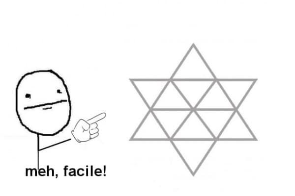 Gioco | Quanti triangoli ci sono in questa immagine?