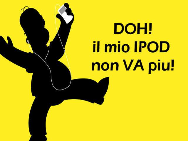 help! non mi va l'IPOD!
