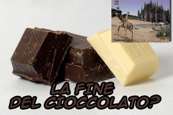 Tragedia! Il riscaldamento globale farà sparire il cioccolato!