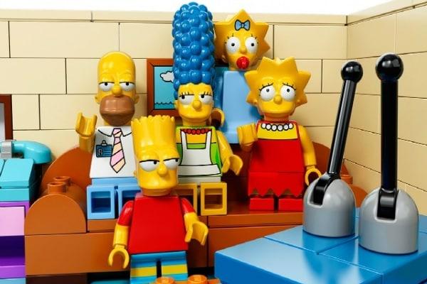 Arrivano i Simpson in formato Lego!