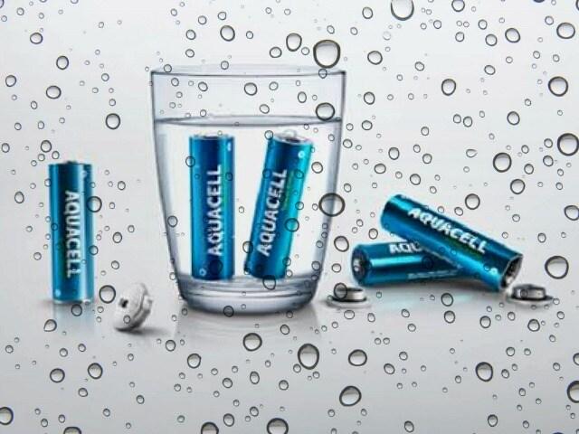 Lo sapevi che esistono le pile ad acqua?