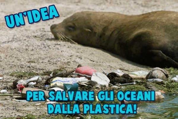Idea geniale di un ragazzo per pulire gli oceani dalla plastica