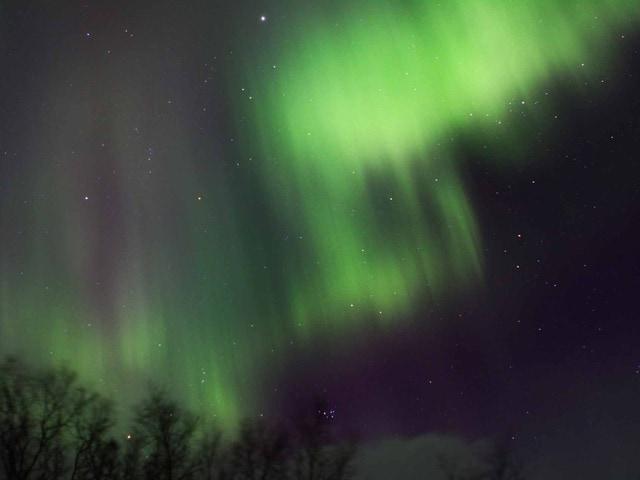 Lo spettacolo dell'aurora boreale in Inghilterra