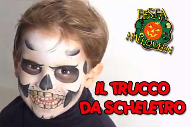 Festa per Halloween: il trucco da scheletro fai da te | Video