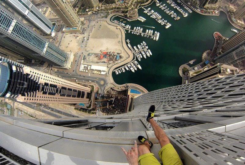 Vietato guardare a chi soffre di vertigini! Foto spettacolari dall'alto