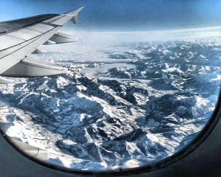 Incredibili foto dall'aereo!
