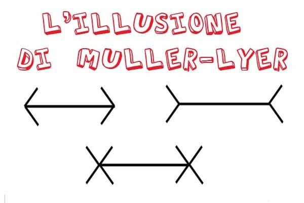 Illusioni ottiche | Le linee di Muller-Lyer