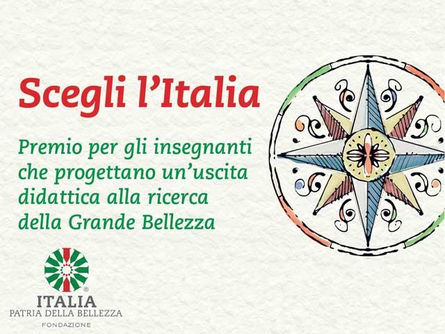 Un premio per i vostri insegnanti | Scegli l'Italia, la patria della bellezza!