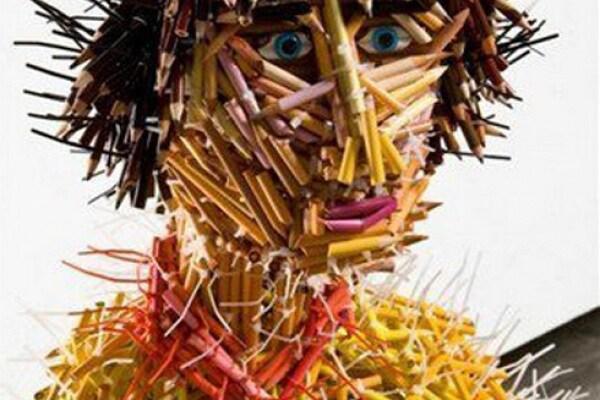 Incredibili e bellissime sculture di matite