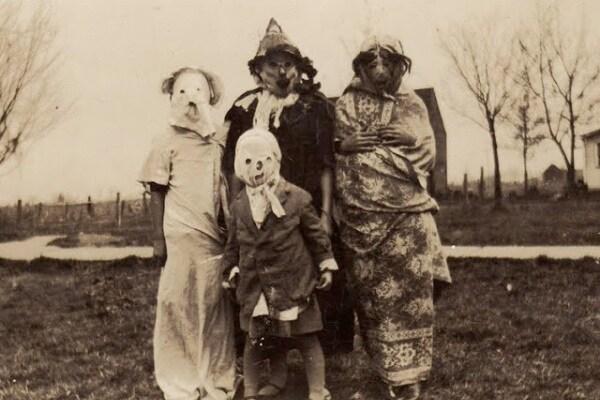 Halloween: come si vestivano i nostri nonni