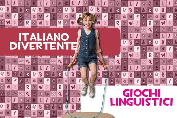 Giochi linguistici online per imparare l'italiano divertendosi