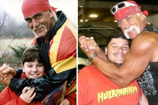 Prima e Dopo: 15 foto rifatte nella stessa posa 20 anni dopo
