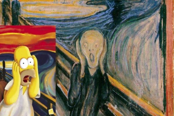 """Il quadro """"l' Urlo"""" di Munch… mi fa paura!!!"""