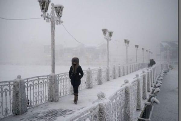Il posto più freddo del mondo. Forse