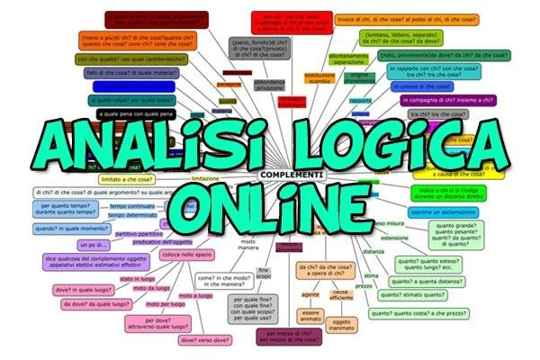 Analisi logica | Risorse ed esercizi online