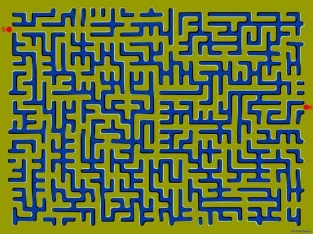 Le illusioni ottiche di Junior   Il labirinto in movimento!