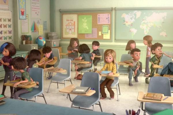 Il primo giorno di scuola. Il nuovo trailer di Inside out [Trailer]