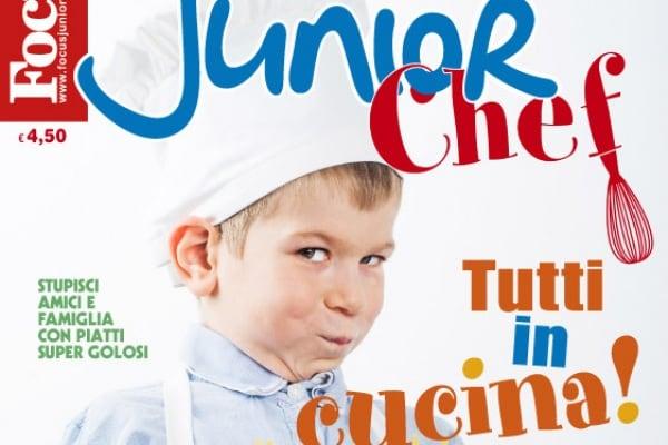 Junior Chef, in edicola la rivista per piccoli cuochi!
