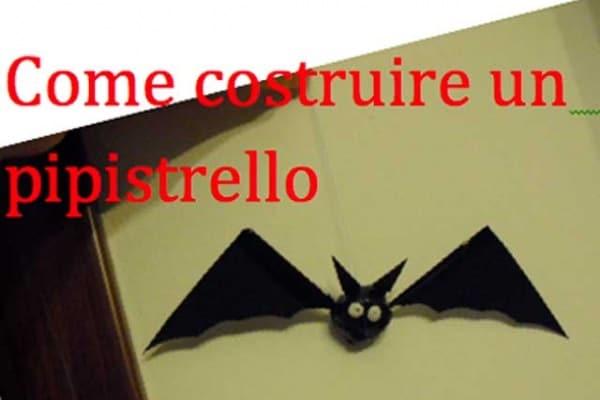 Halloween | Costruire un pipistrello di carta