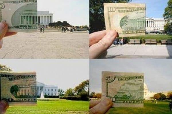 Monumenti da banconota!