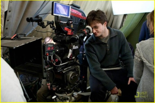 Harry Potter 7: back stage