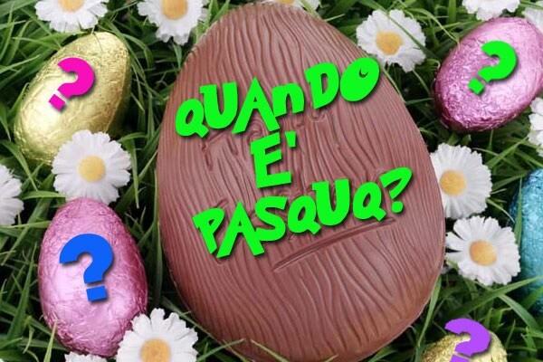 Quando è Pasqua nel 2017?