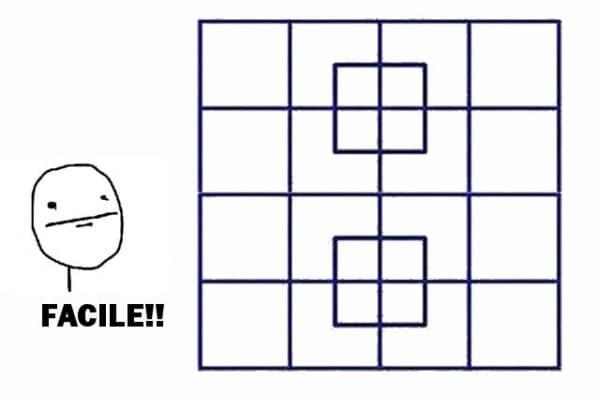 Gioco | Quanti quadrati ci sono in questa immagine?