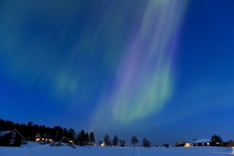 Le straordinarie foto dell'aurora boreale
