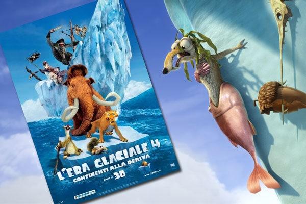 L'Era Glaciale 4 – Continenti alla deriva: trailer, scene e giochi in anteprima