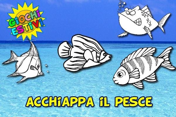 Giochi estivi | Acchiappa il pesce!