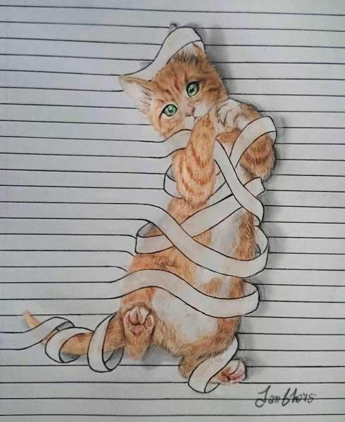 Disegni Di Animali Da Guardare Tra Le Righe Focus Junior