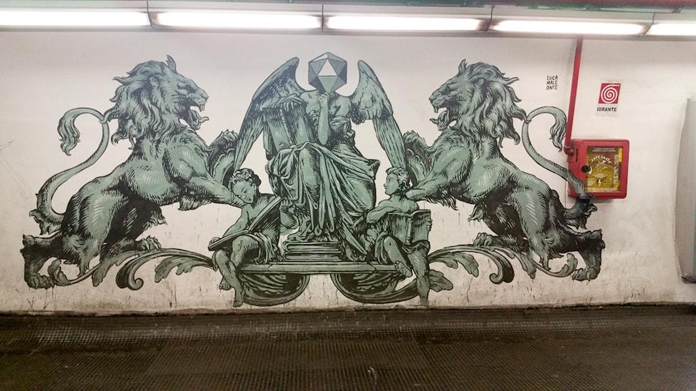 Roma diventa la capitale della Street Art. Trenta quartieri e un'app per visitare i graffiti romani