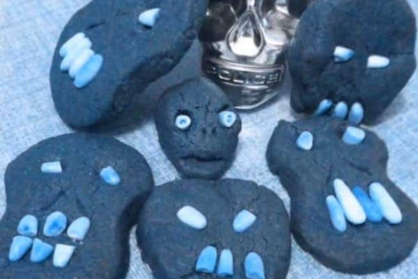 Halloween | I biscotti teschio e altri cibi a forma di cranio