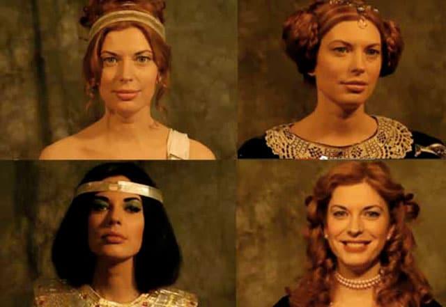 L'evoluzione delle pettinature femminili nella storia