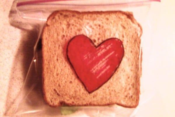 Un sandwich ad arte!