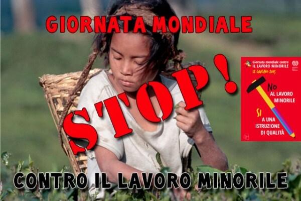 12 giugno | Giornata mondiale contro il lavoro minorile