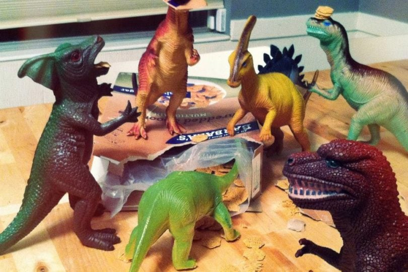 Dinovember: l'invasione dei dinosauri lunga un mese