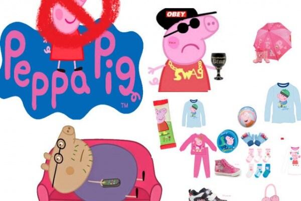 """L' impero """"malefico"""" di Peppa Pig ci sta dominando?"""