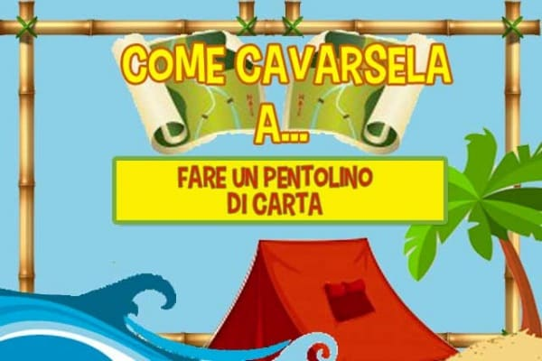Come fare un pentolino di carta | Come cavarsela