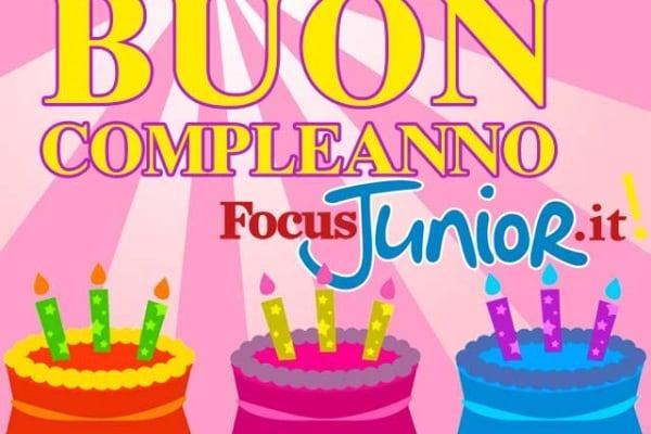 Il nuovo Focusjunior.it compie un anno!