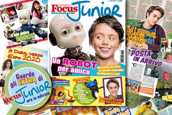 In esclusiva per voi ecco i contenuti extra di Focus Junior n. 146!