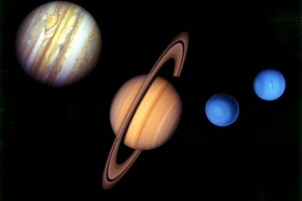 Sistema Solare | I pianeti gassosi